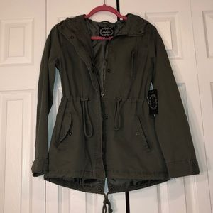 NWT Green jacket- size SMALL